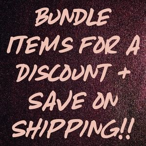 Other - Bundle & Save!!!